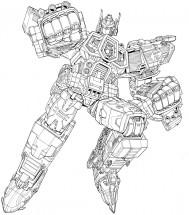 Раскраски из мультика Трансформеры для мальчиков ...