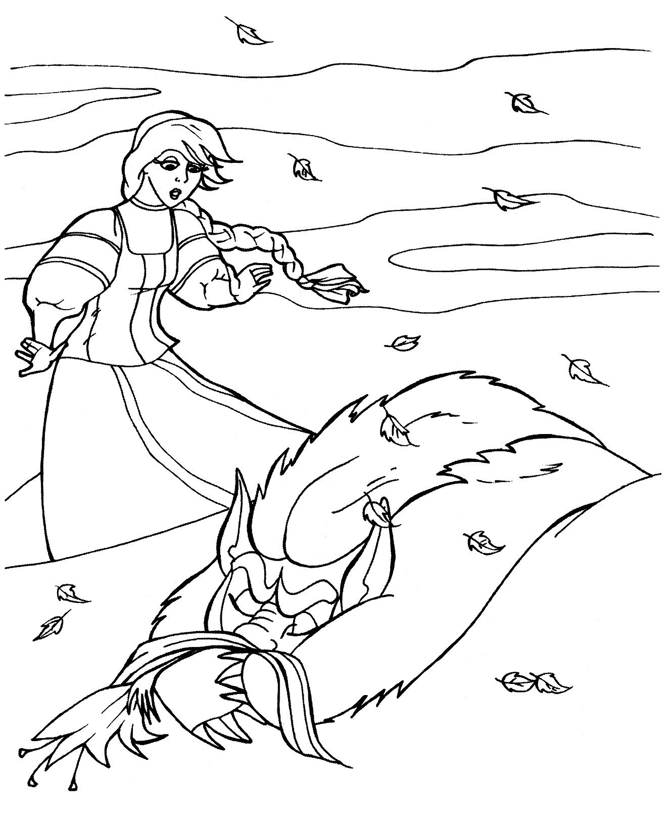 Рисунки к аленькому цветочку детские карандашом