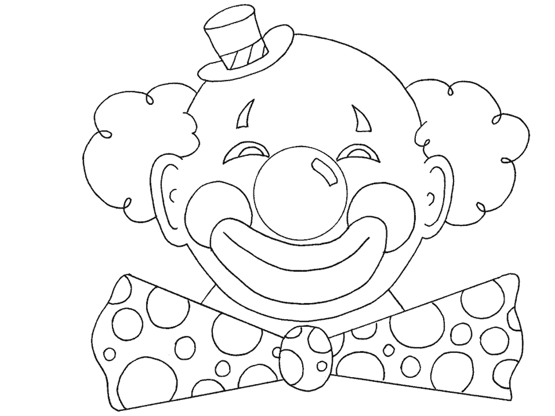 Картинки клоунов для распечатки