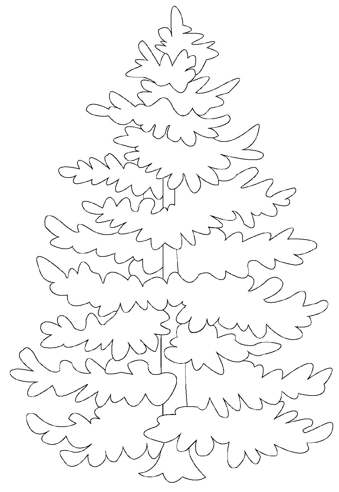 картинки шаблоны на окна елка заболеваний