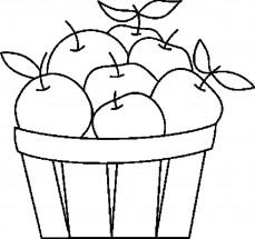 Раскраски яблоко: распечатать или скачать бесплатно ...