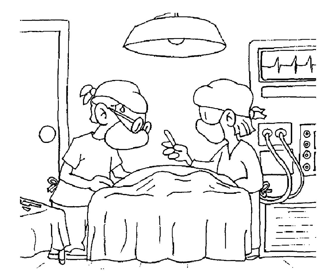 Картинки больница распечатать