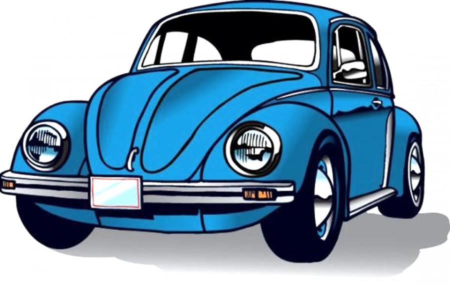 Синий автомобиль периода СССР - картинка №9956   Printonic.ru