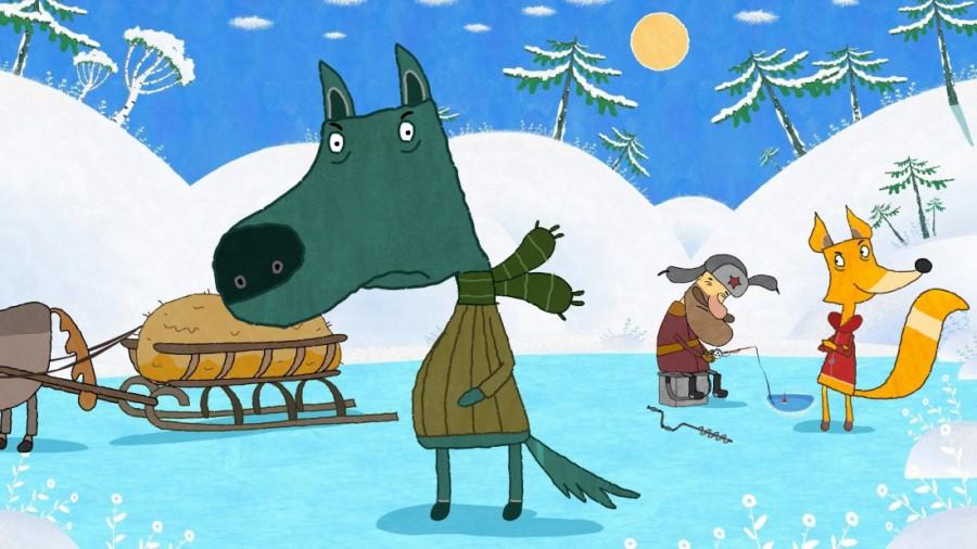 Картинка сказки Лиса и Волк - картинка №10698 | Printonic.ru