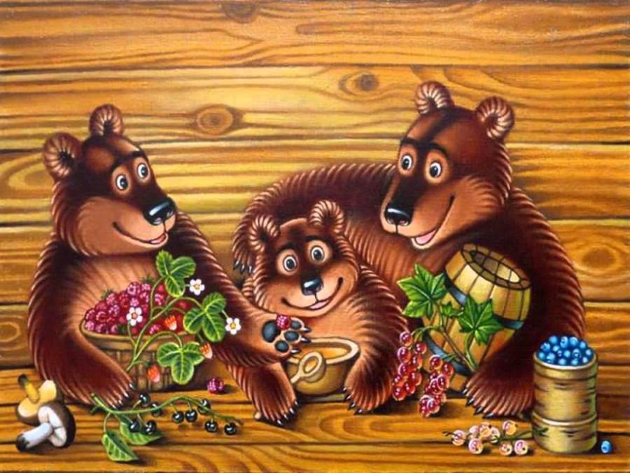 Сказочная медведица картинки