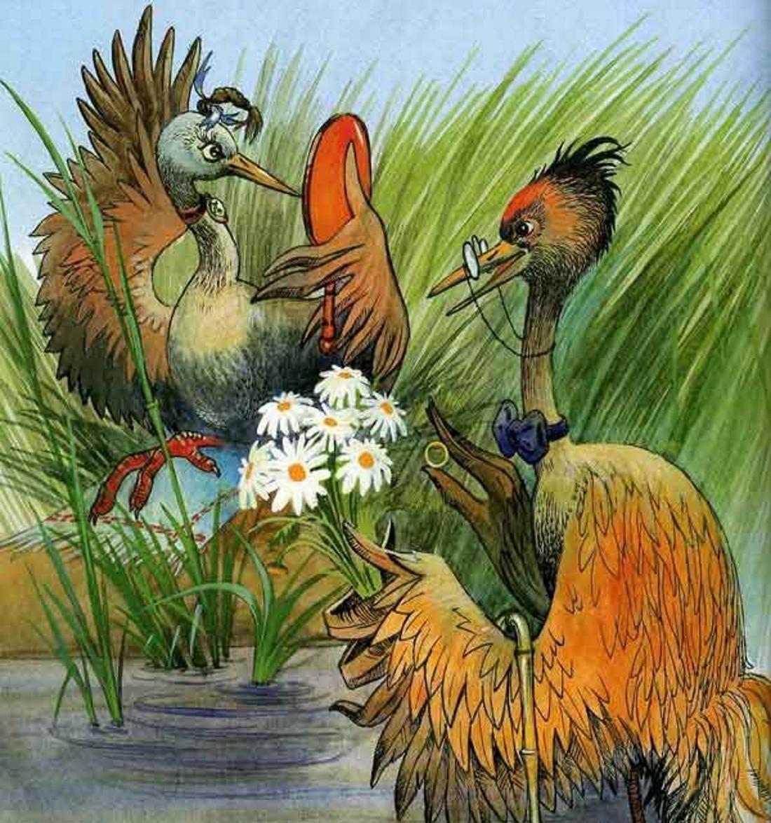 Сказки старого попугая фото облагораживает сад