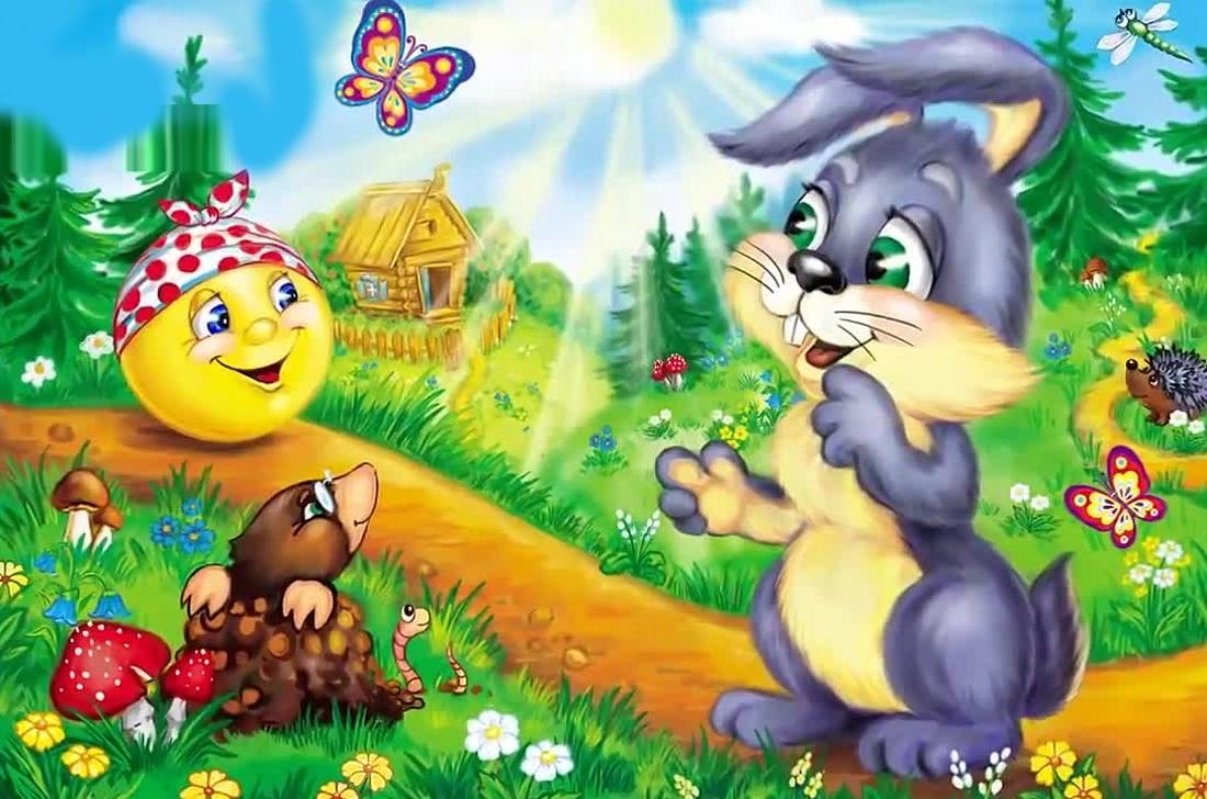 Мультфильмы детские в картинках