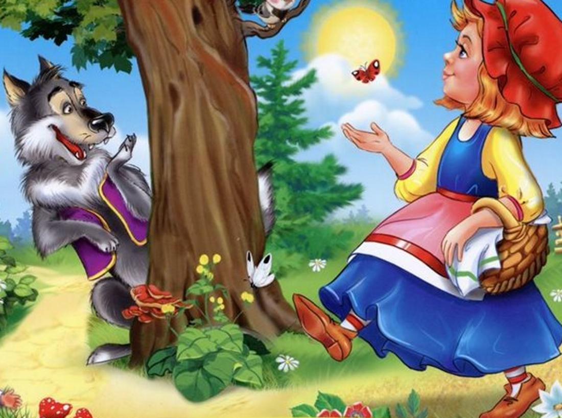Детские картинки из сказок фото