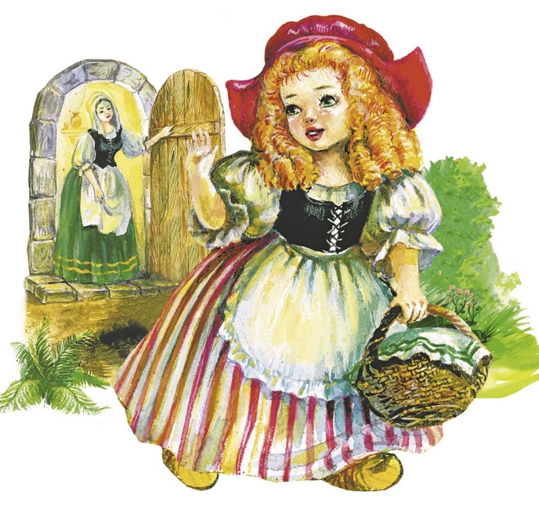 Картинки красной шапочки из сказки