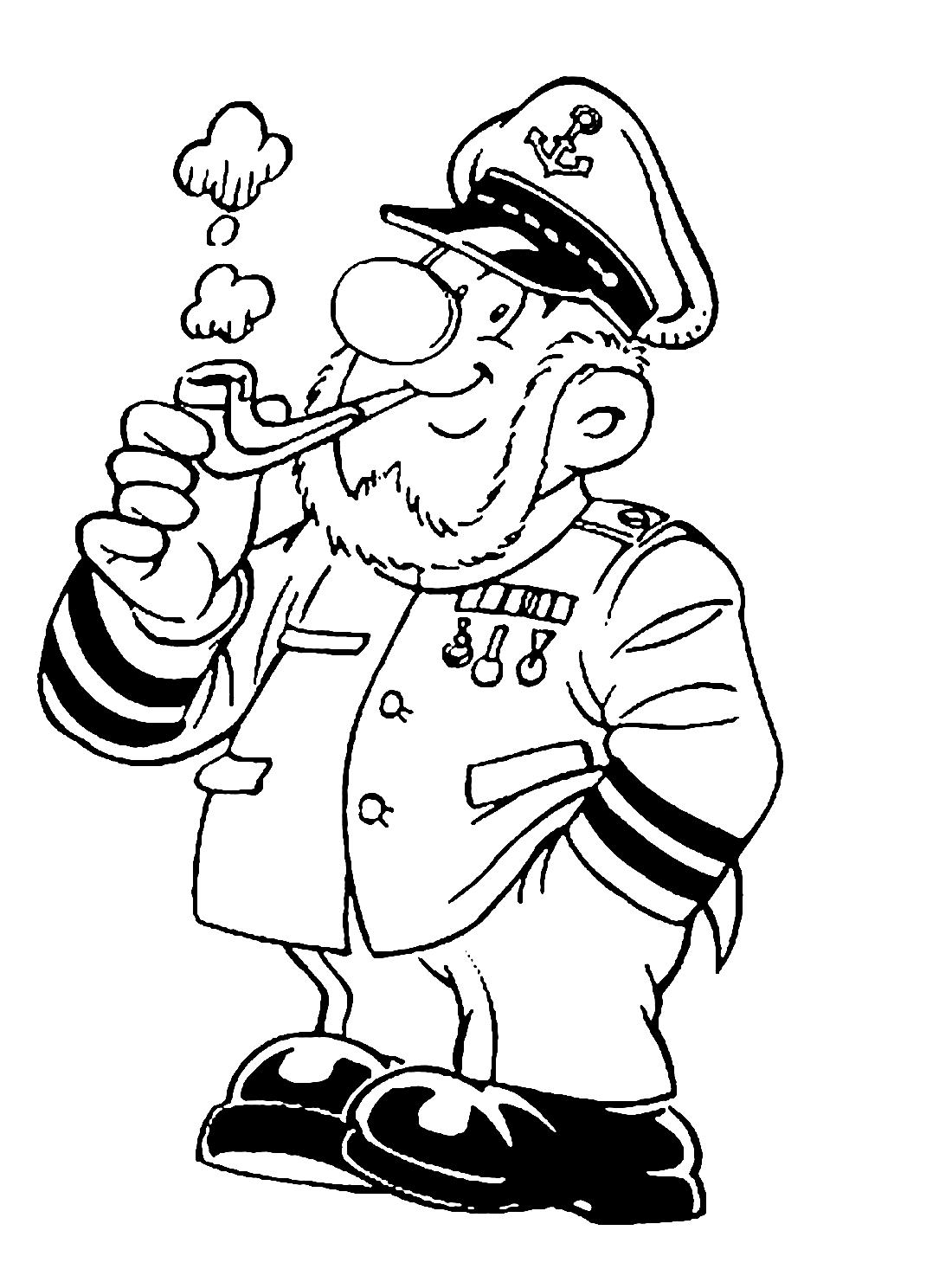 профессия моряк рисунок есть, рекламщики