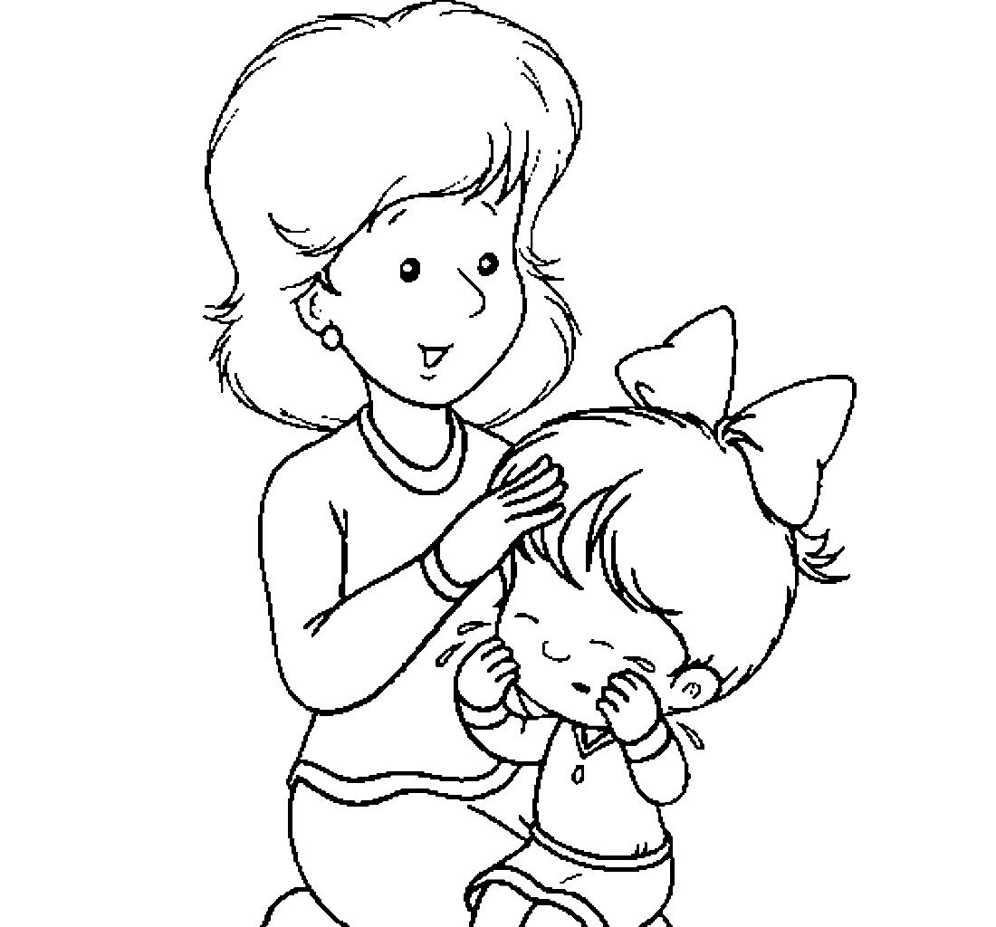 Раскраска Мама принцессы распечатать   Мерида   1024x1100