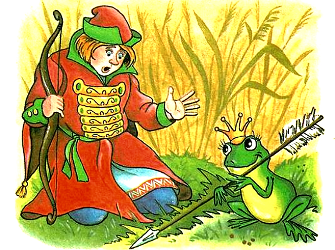 Картинки из сказки иван царевич и лягушка квакушка