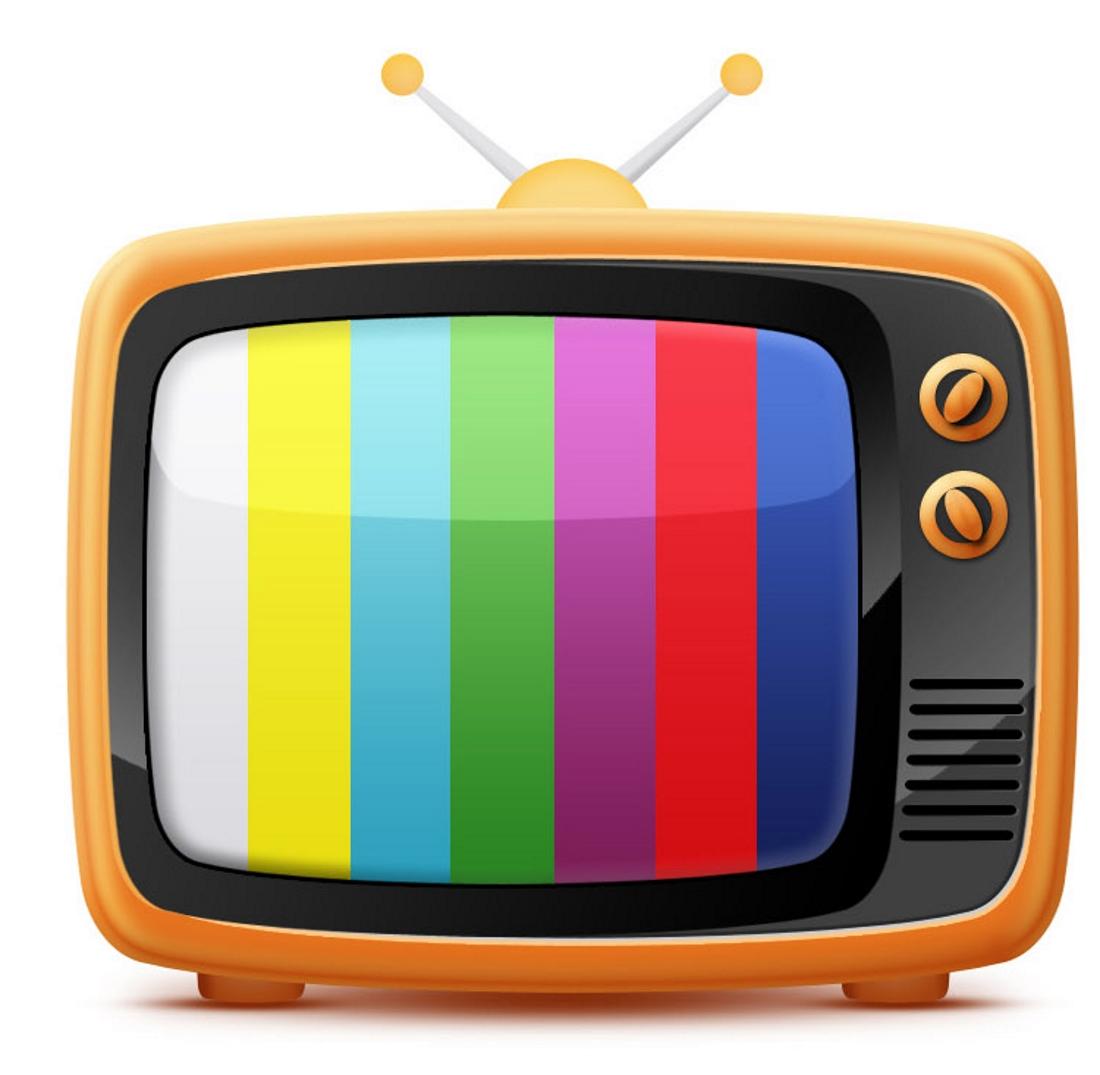Мультяшный телевизор картинки