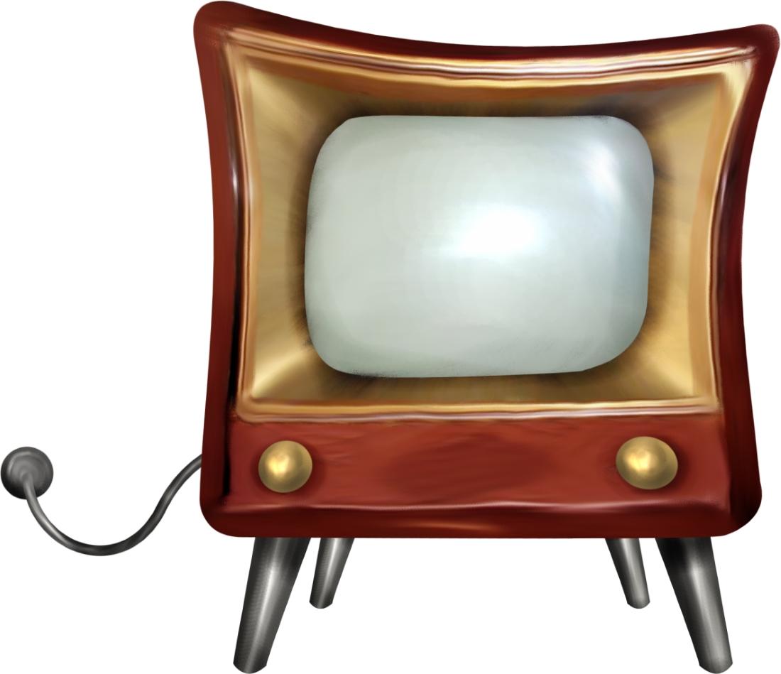 старый телевизор рисунок комплекты рулонных жалюзи