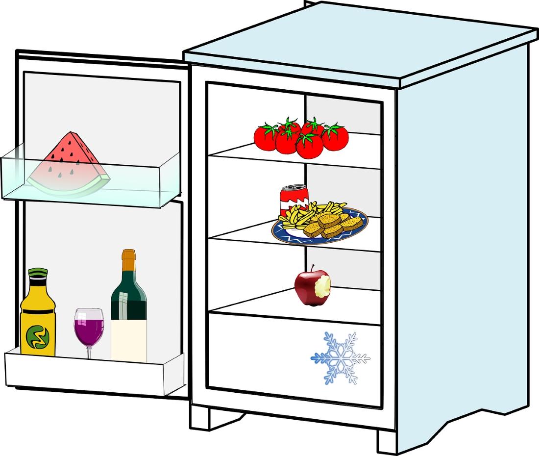 Картинки холодильник для детей распечатать