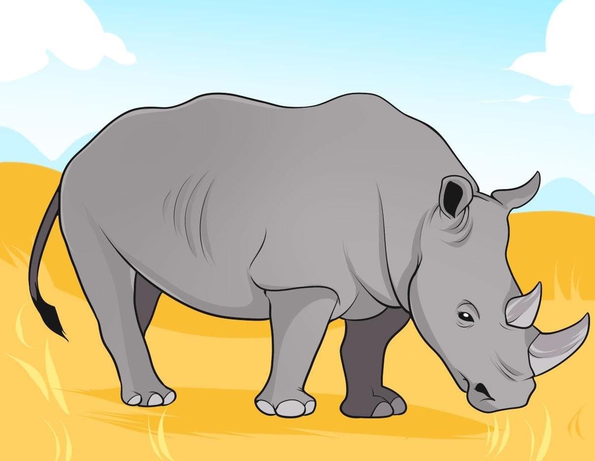 выполнена носорог картинки рисунки фотопечать кухонных фасадах