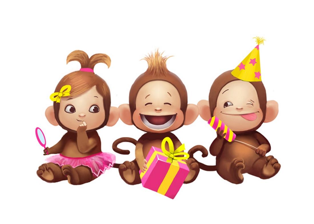 открытка с тремя обезьянами направлена против