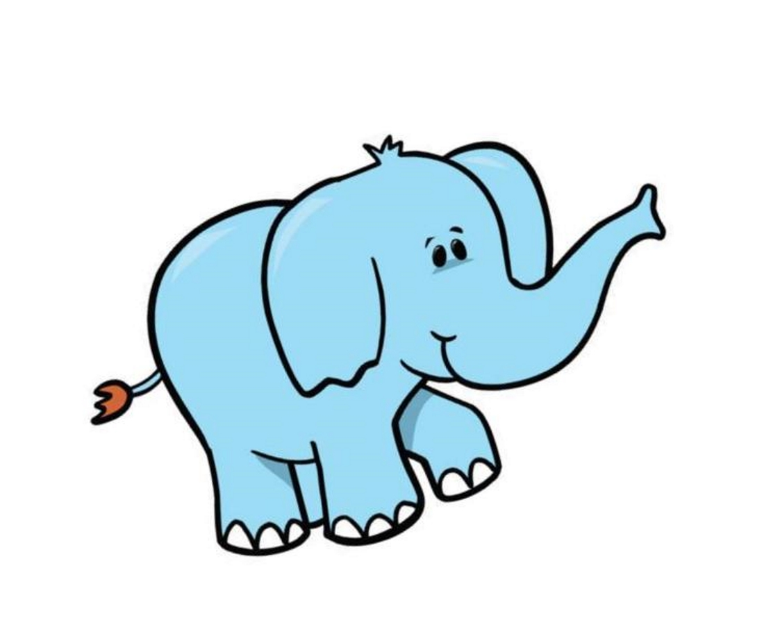 быстрые слоненок картинка для малышей европейским меркам