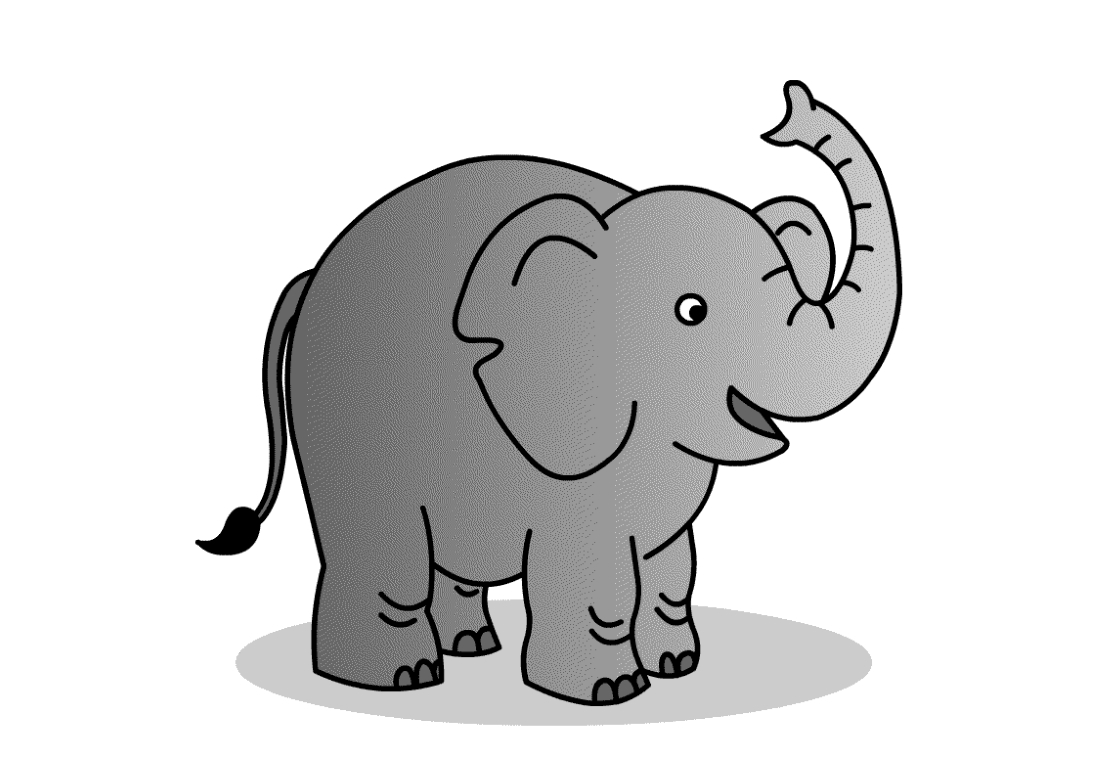 Картинки слона детям