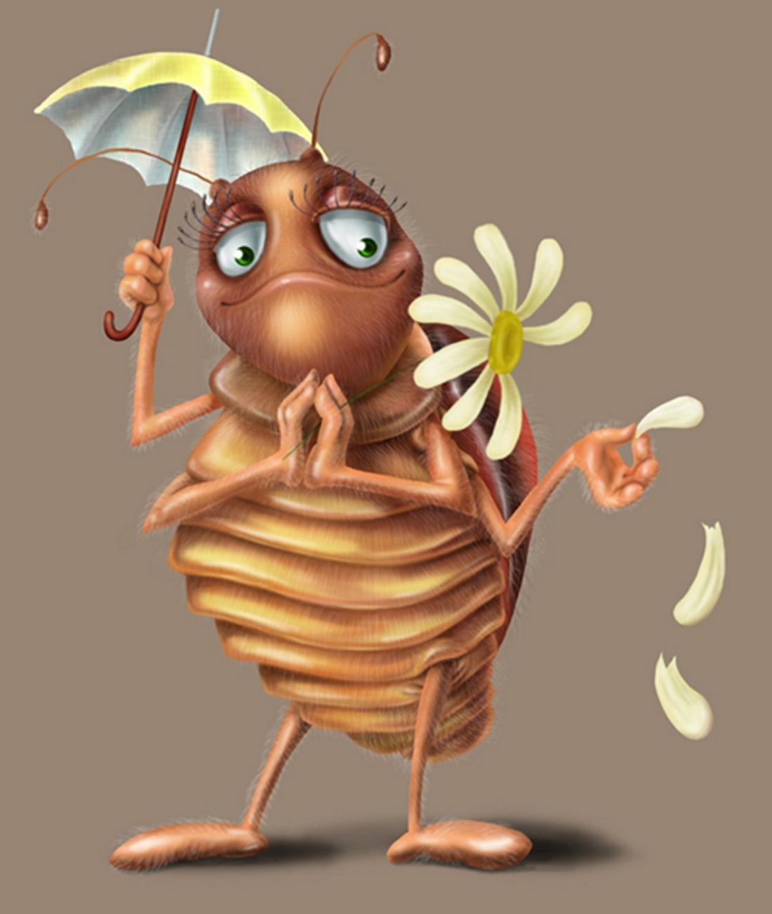 эффектно тараканы по мультяшному картинки могут использовать