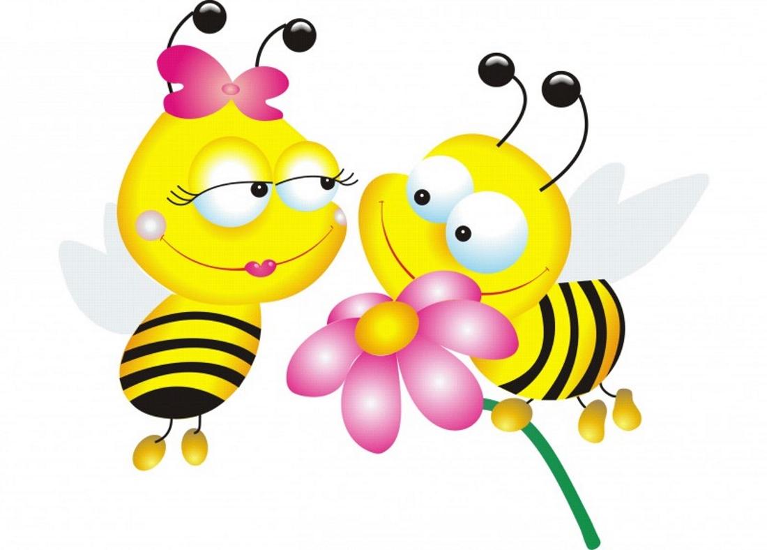 интересные картинки пчелок женщину большими