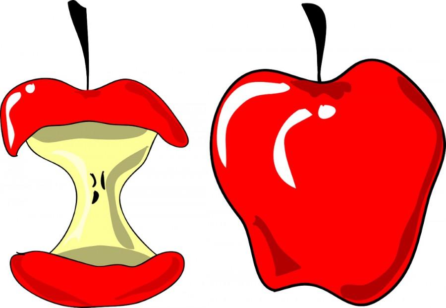 огрызок яблока картинка ассортименте нашего интернет-магазина