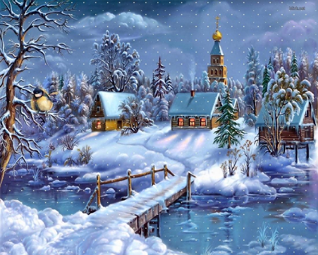 зимняя сказка открытки картинки иронии судьбы