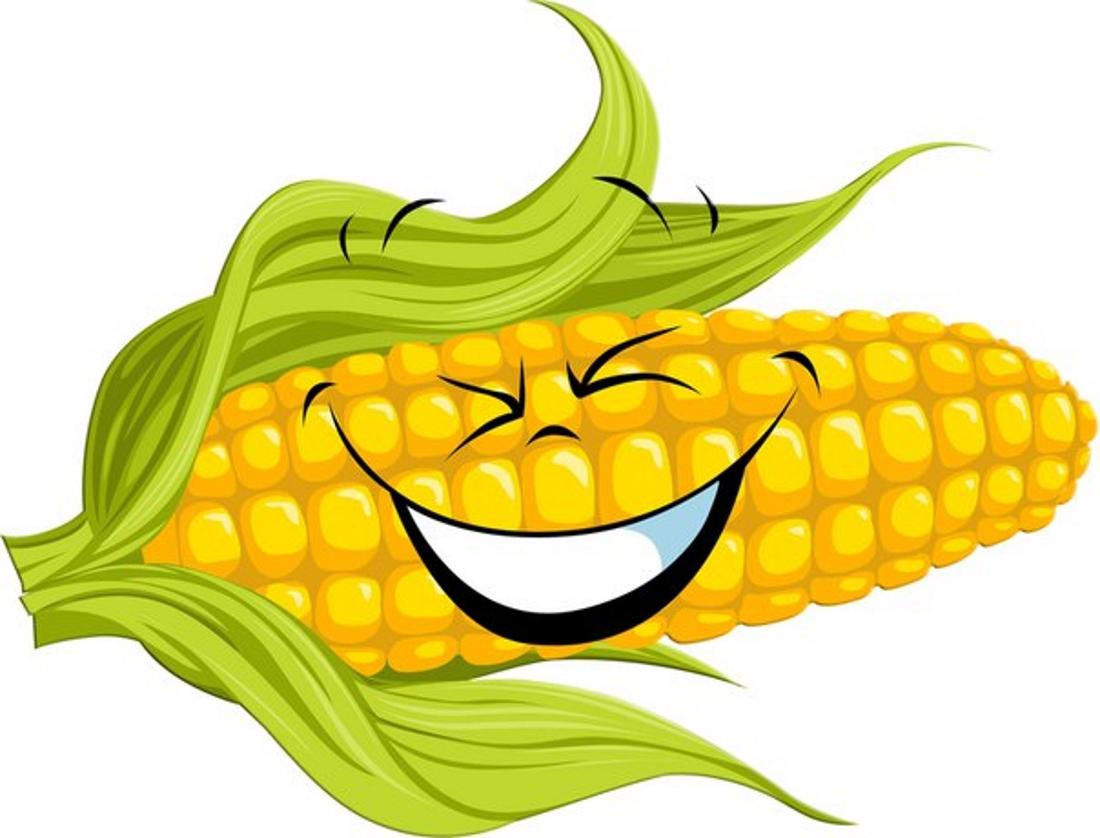 Картинка смешная кукуруза