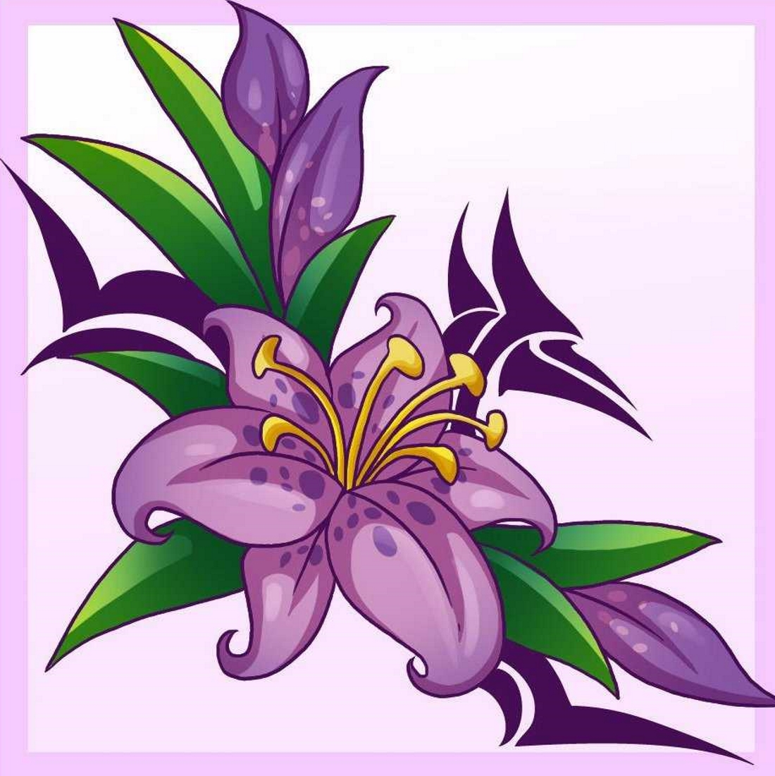 Картинки красивые цветочки нарисованные
