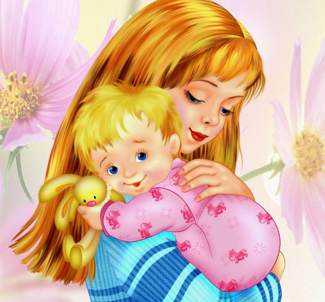 Картинки на день матери в садик
