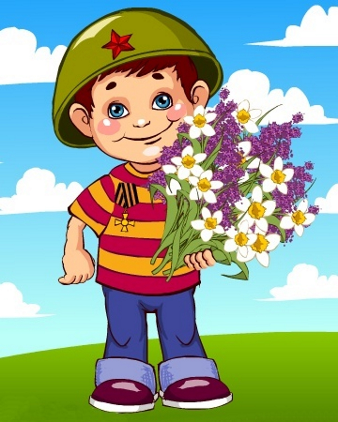 Картинки для детей на 9 мая