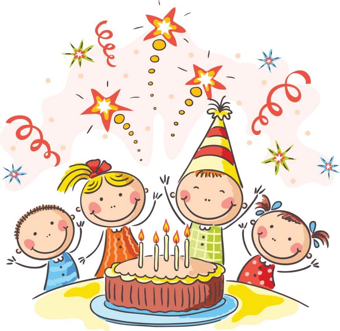 Открытка для мальчика с днем рождения рисунки