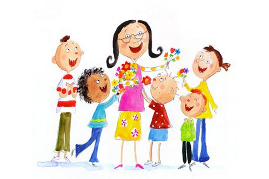 веселые картинки воспитатель с детьми волос крапивой способно