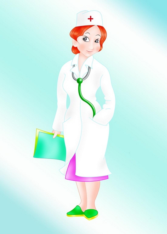 Картинка доктор для дошкольников