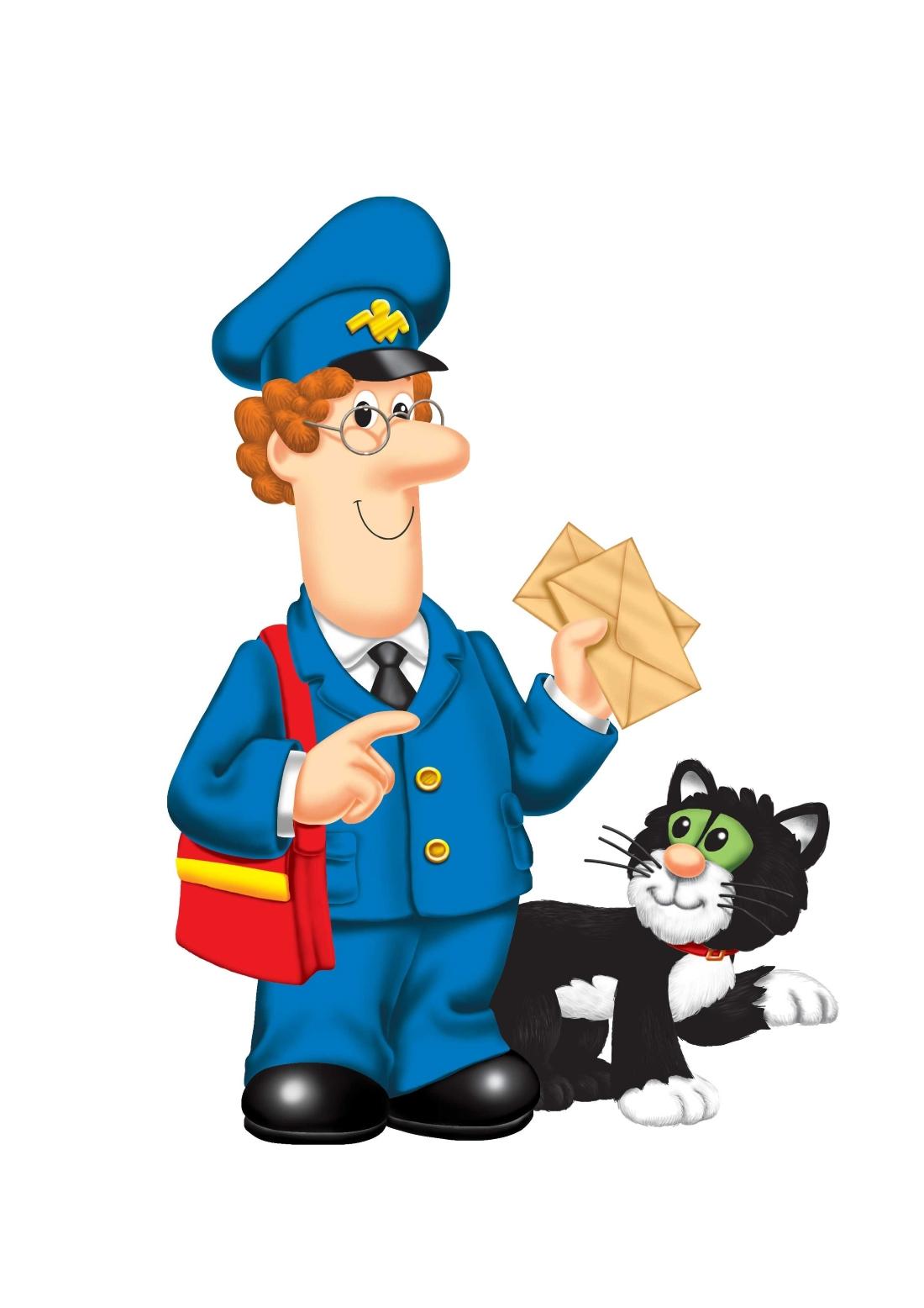 Профессии картинки почтальон