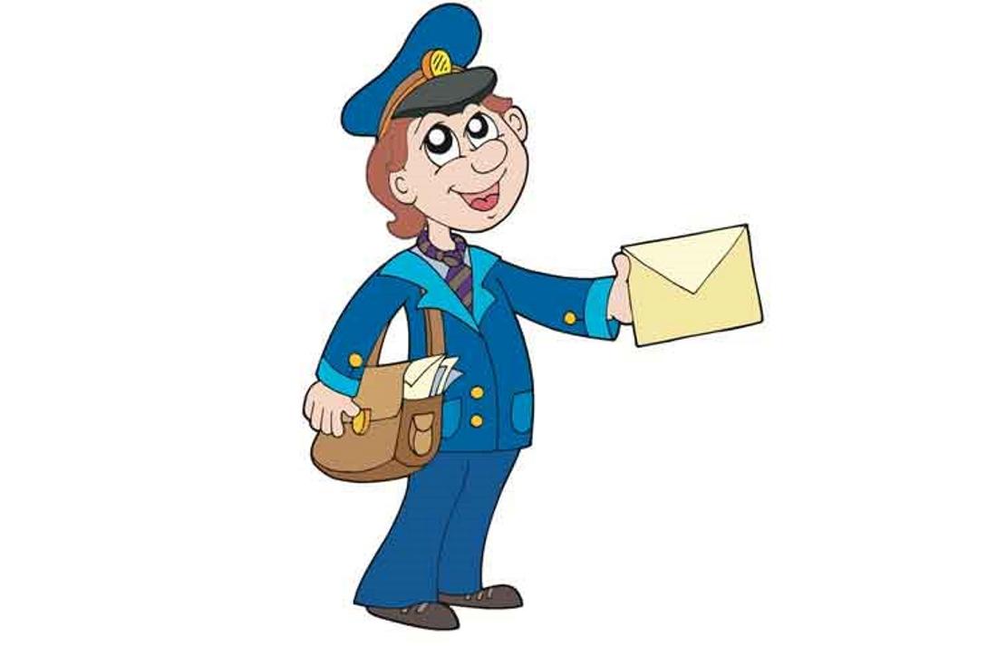 Картинка ребенок почтальон