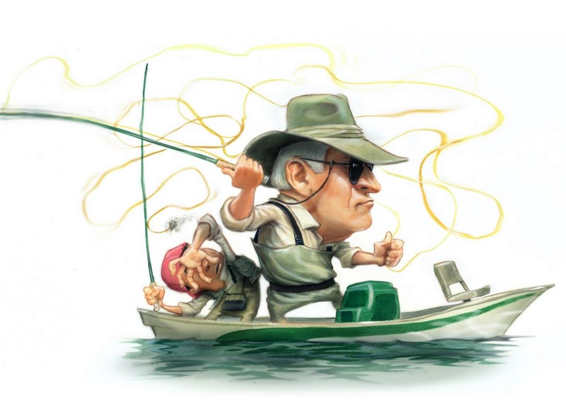 многих открытка с рыбаком вот