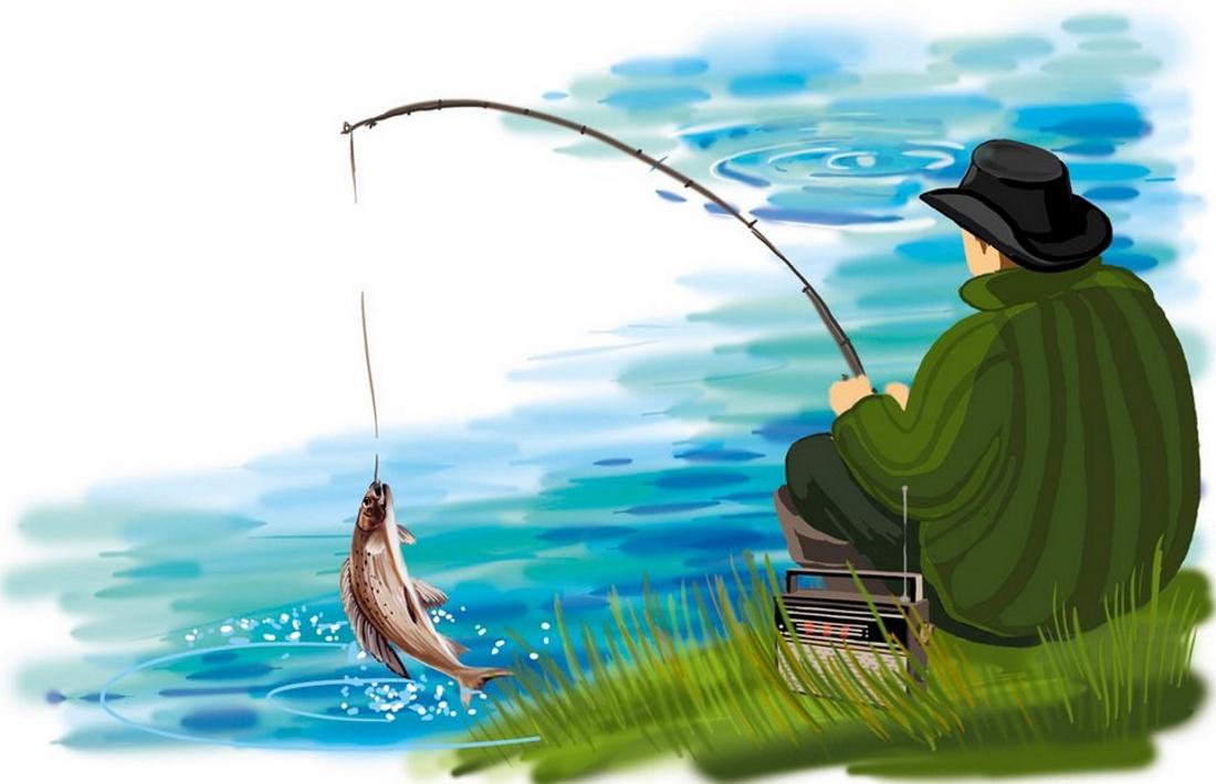 пустом рыбалка картинки мультяшные фото