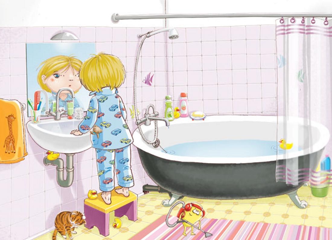 Правила в ванной картинки