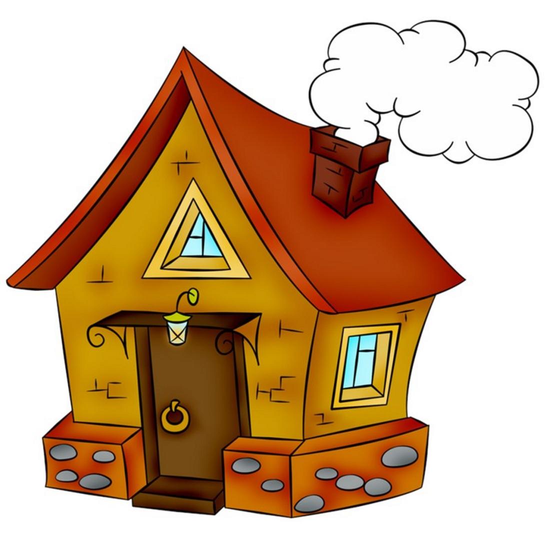 Картинка домик для детского сада