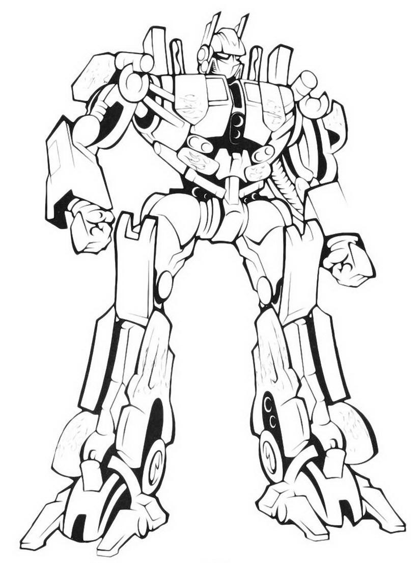 Трансформер Мегатрон - раскраска №124 | Printonic.ru