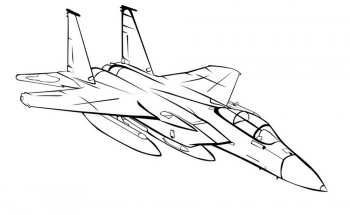 раскраски самолеты для мальчиков распечатать или скачать