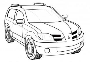 Раскраски автомобили: распечатать или скачать бесплатно ...