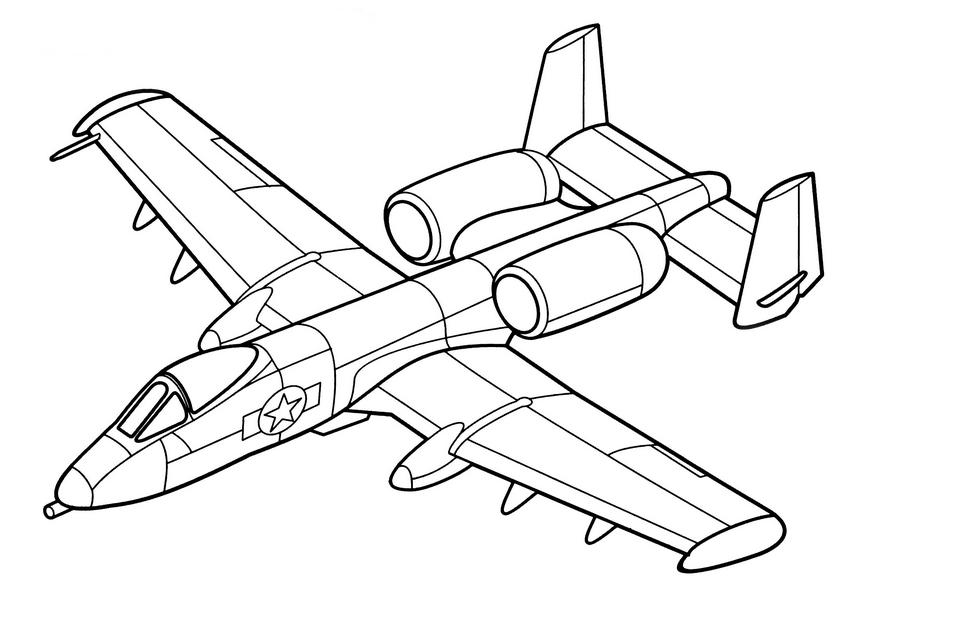 раскраски самолеты распечатать или скачать бесплатно