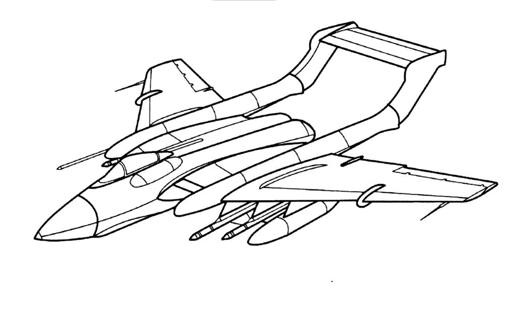 Самолеты раскраски для мальчиков распечатать - 4