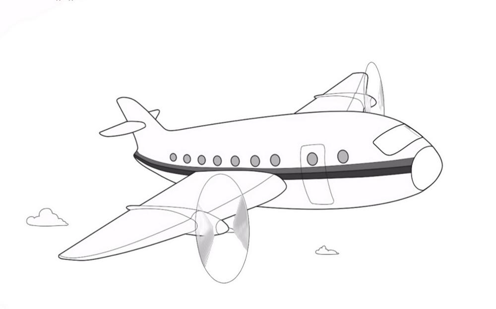 Самолеты раскраски для мальчиков распечатать - 7