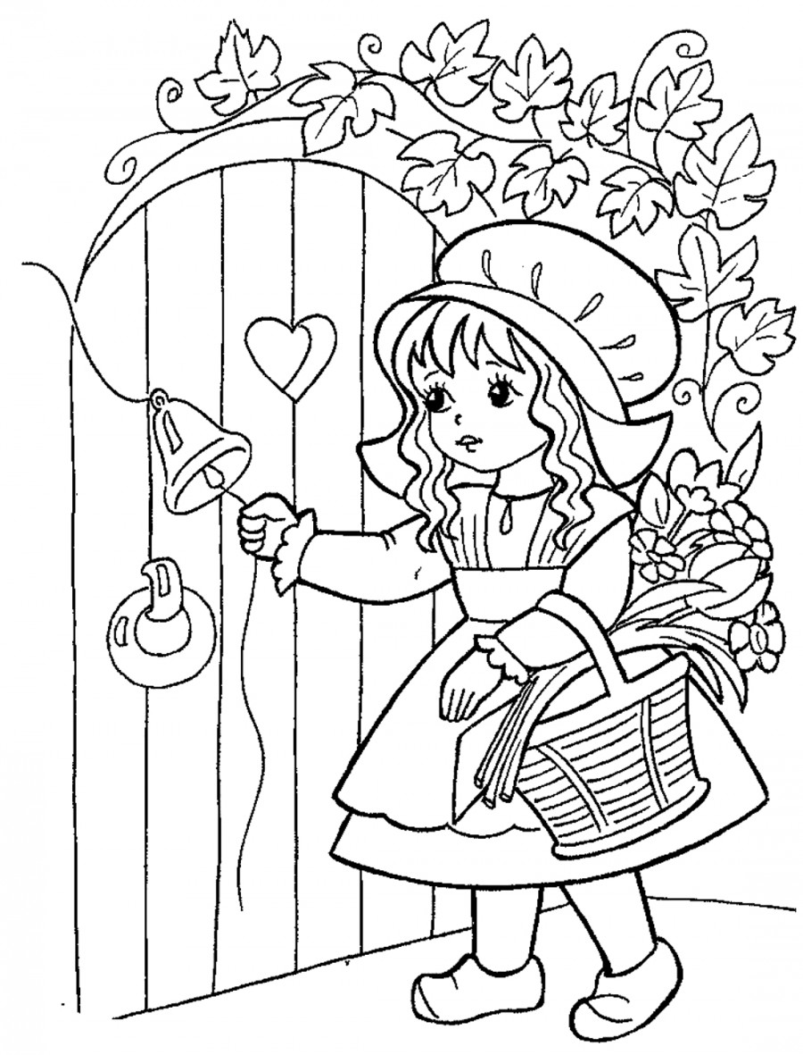 Картинки раскраски сказки для детей
