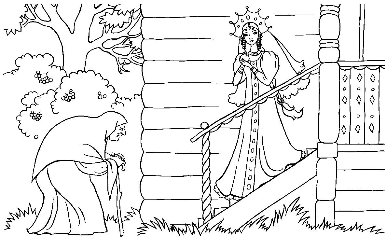 фото о мертвой царевне и о семи богатырях