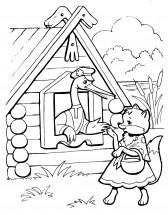 картинки сказки лисичка со скалочкой
