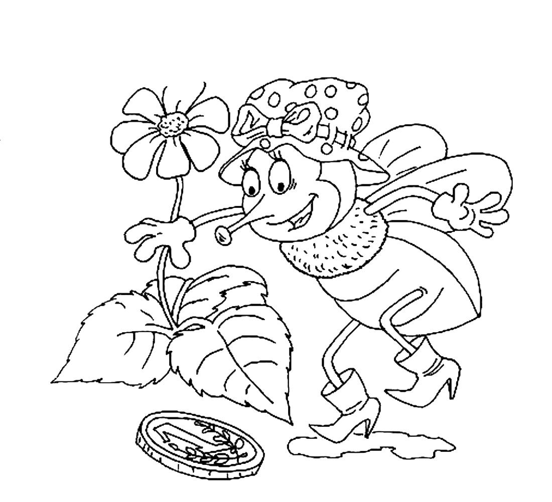 рисунки с сказкам чуковского